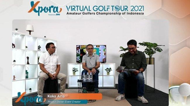 Pandemi, Turnamen Xpora GolfDigelar dengan Konsep Virtual