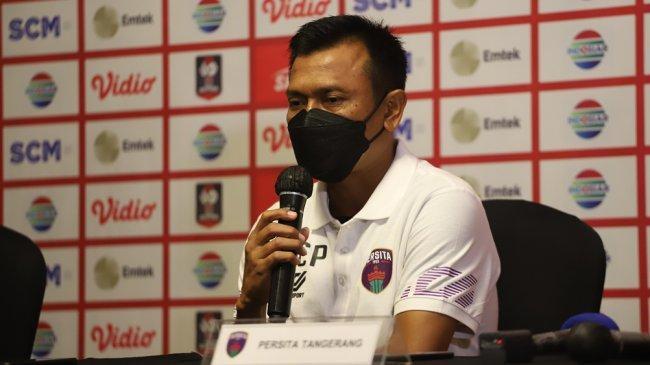 Persita Tangerang Siap Ladeni Bali United Kata Widodo Cahyono Putro