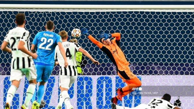 Hasil Zenit vs Juventus Babak I Liga Champions - Tampil Menyerang Total, Morata Cs Tumpul Tanpa Gol