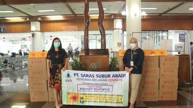 Lewat Program Bersama SSA Lawan Corona, PT Saras Subur Abadi Kirimkan Ribuan Fufang Ejiao Jiang Kepada Tenaga Medis