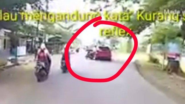 Niat Jajal Action Cam, Pesepeda Motor Ini Tak Sengaja Rekam Kecelakaan Mengerikan!