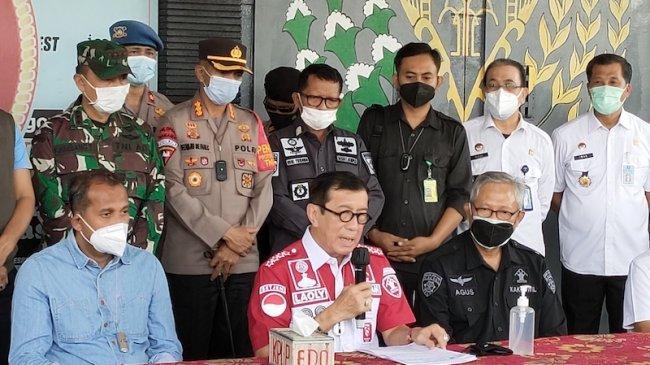 Menkumham Yasonna Laoly Sebut Seorang Narapidana Terorisme Tewas dalam Kebakaran di Lapas Tangerang