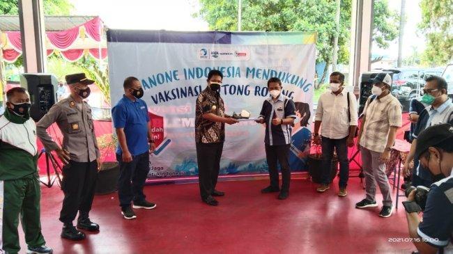 Wakil Bupati Klaten Minta Seluruh Perusahaan di Klaten Vaksinasi Semua Karyawannya