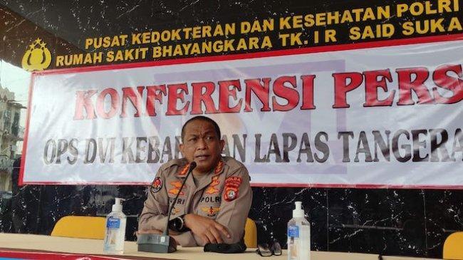 Polisi Sebut Awal Api Penyebab Kebakaran Blok C2 Lapas Kelas I Tangerang Berasal Dari Sel Nomor 4
