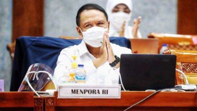 Rapat dengan Presiden Joko Widodo, Menpora Singgung Vaksinasi Atlet PON Papua 2021