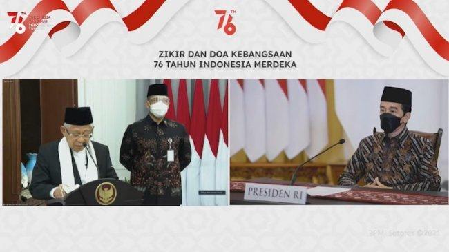 Majelis Dzikir Hubbul Wathon Adakan Zikir dan Doa Kebangsaan 76 Tahun Indonesia Merdeka
