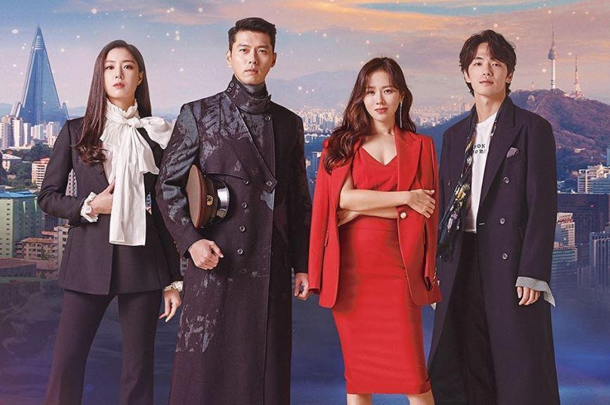 Poster Drama Korea Crash Landing on You
