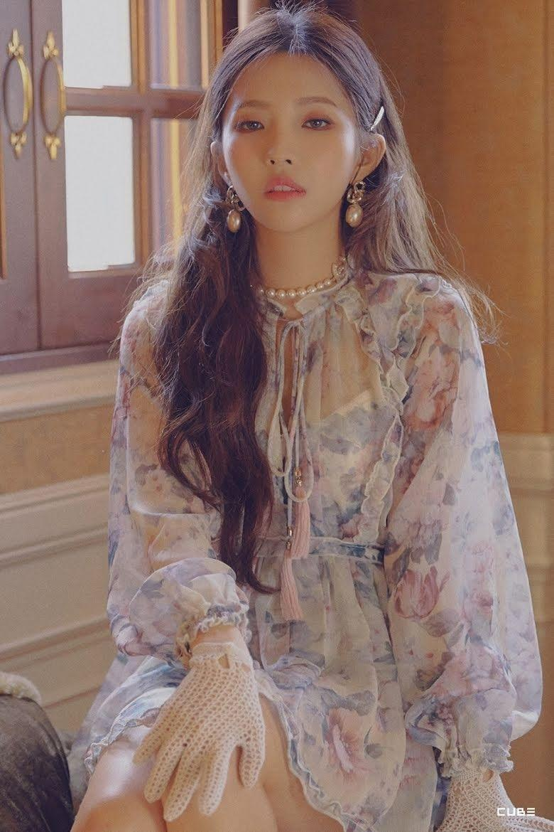 57. Soyeon ((G)I-DLE and K/DA)