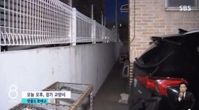 Gang tempat ditemukannya bayi malang meninggal karena membeku.