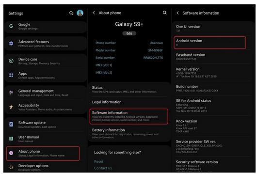 Berikut cara mengecek OS Android.