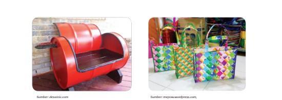 Contoh beberapa benda daur ulang 2