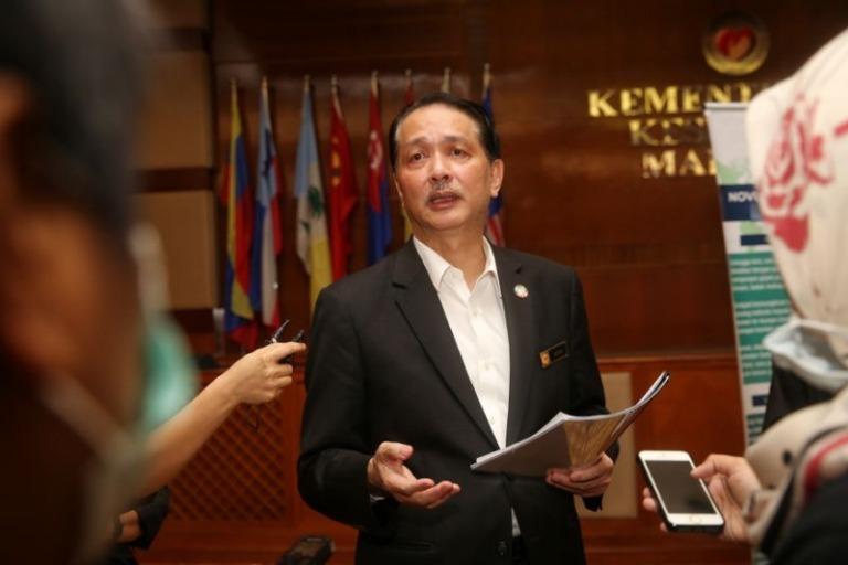 Direktur Jenderal Kesehatan Malaysia Dr Noor Hisham Abdullah