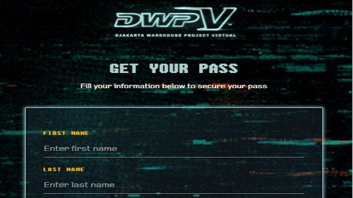 Cara Mendapatkan V Pass Dwp 2020 Tiket Gratis Nonton Djakarta Warehouse Project Halaman All Tribunnews Com