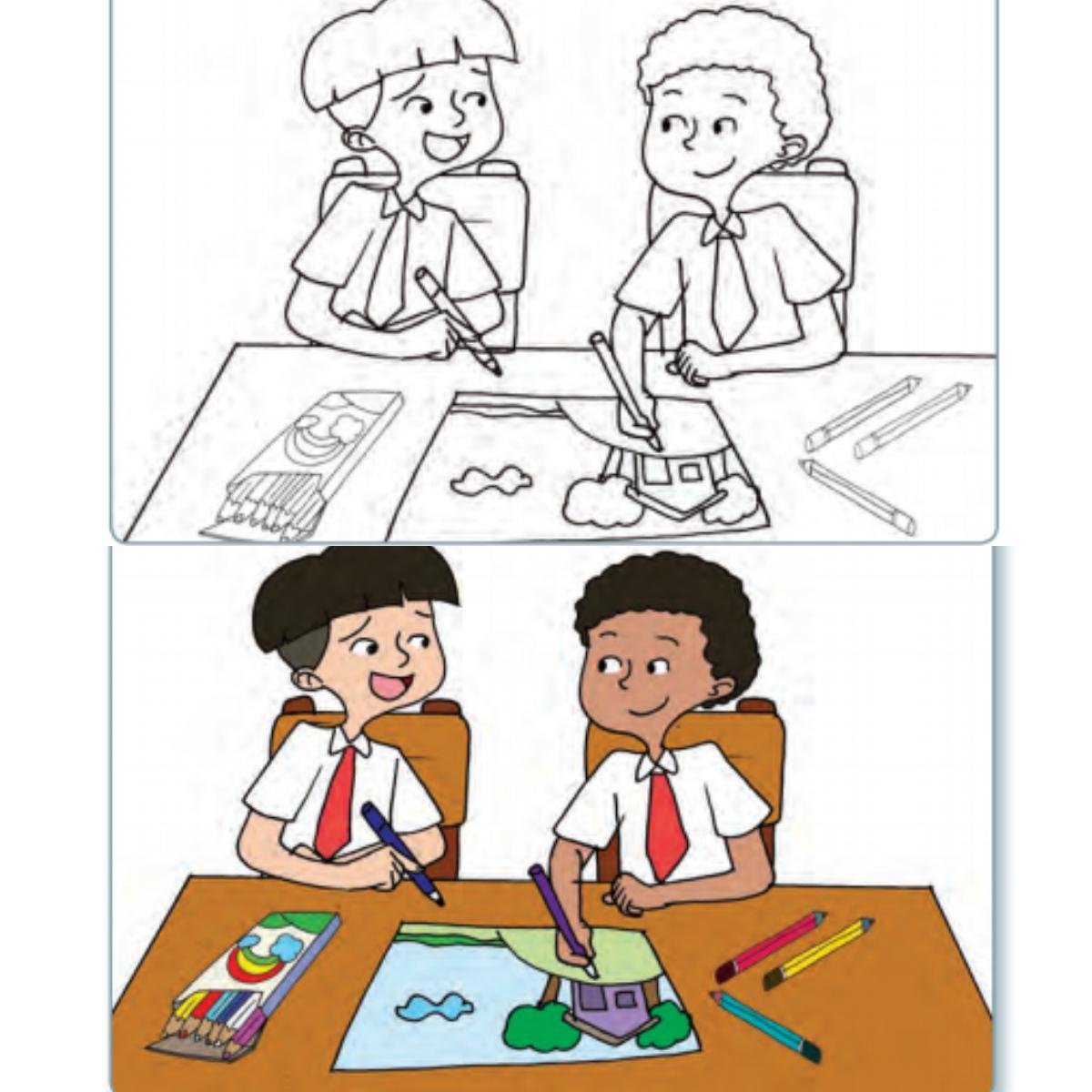Kunci Jawaban Tema 8 Kelas 5 Sd Halaman 132 134 135 Subtema 3 Pembelajaran 6 Tahap Mewarnai Gambar Halaman All Tribunnews Com Mobile