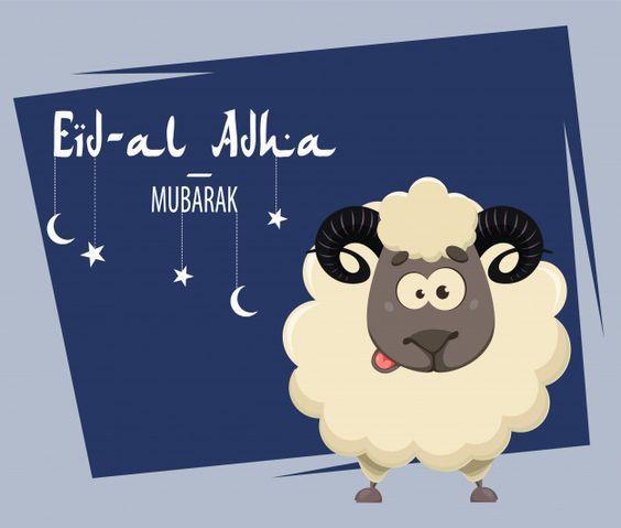 Gambar selamat hari raya Idul Adha 2020 (Pinterest/freepik.com)