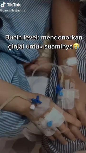 Istri donor ginjal untuk suaminya