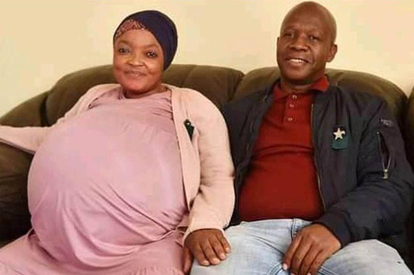 Gosiame Thamara Sithole dan 'suaminya,' Teboho Tsotetsi