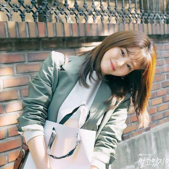 Han So Hee dalam drama Nevertheless.