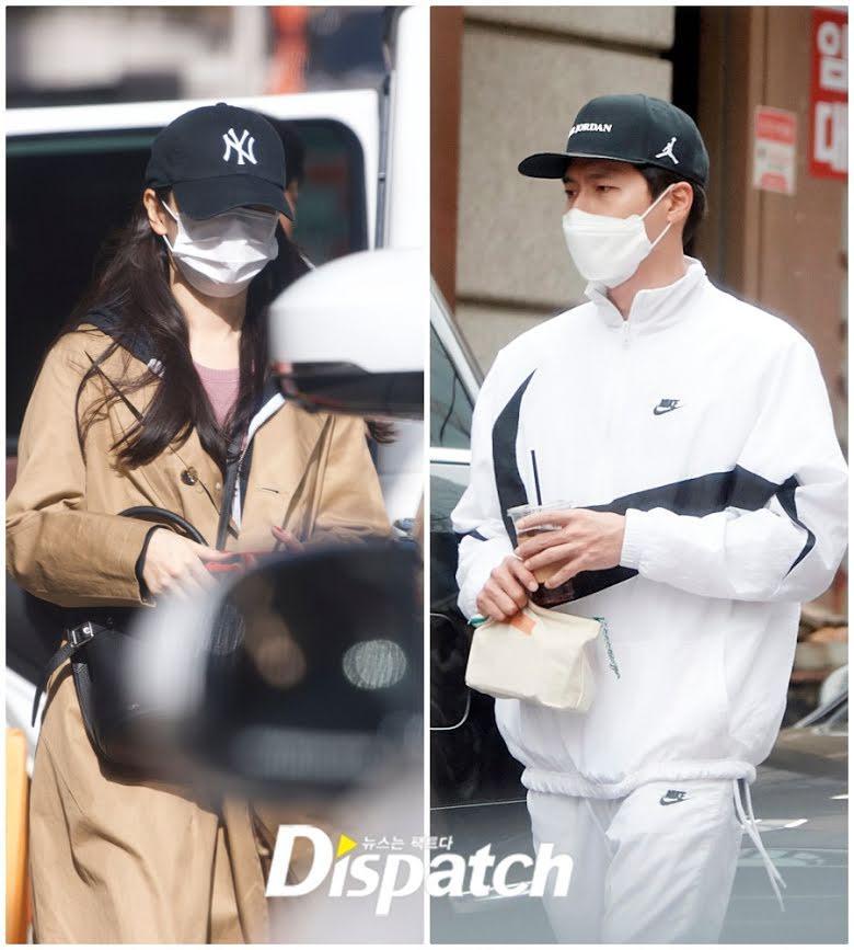 Foto kencan Hyun Bin dan Son Ye Jin yang dirilis Dispatch.