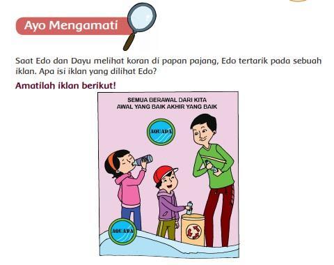 Iklan Pembelajaran 1 Kelas 5 SD Tema 9