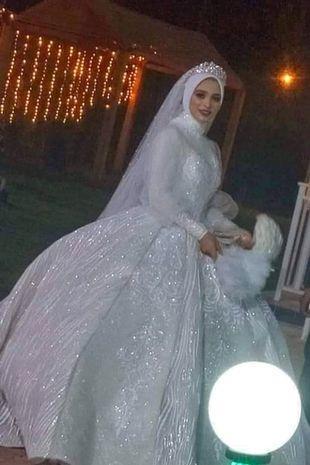 Isra Shaaban, pengantin wanita yang meninggal dunia akibat serangan jantung di hari pernikahannya