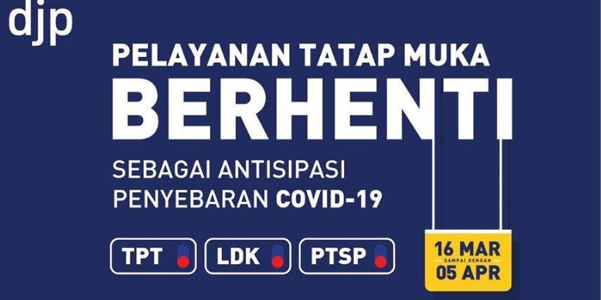 Dampak Corona, Lapor SPT Tahunan Diperpanjang 30 April 2020 & Tidak Dikenakan Sanksi Terlambat.