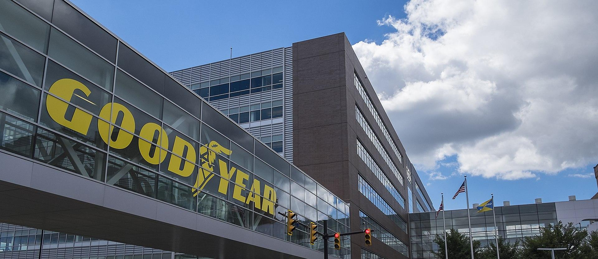 Kantor pusat Goodyear di Akron, Ohio