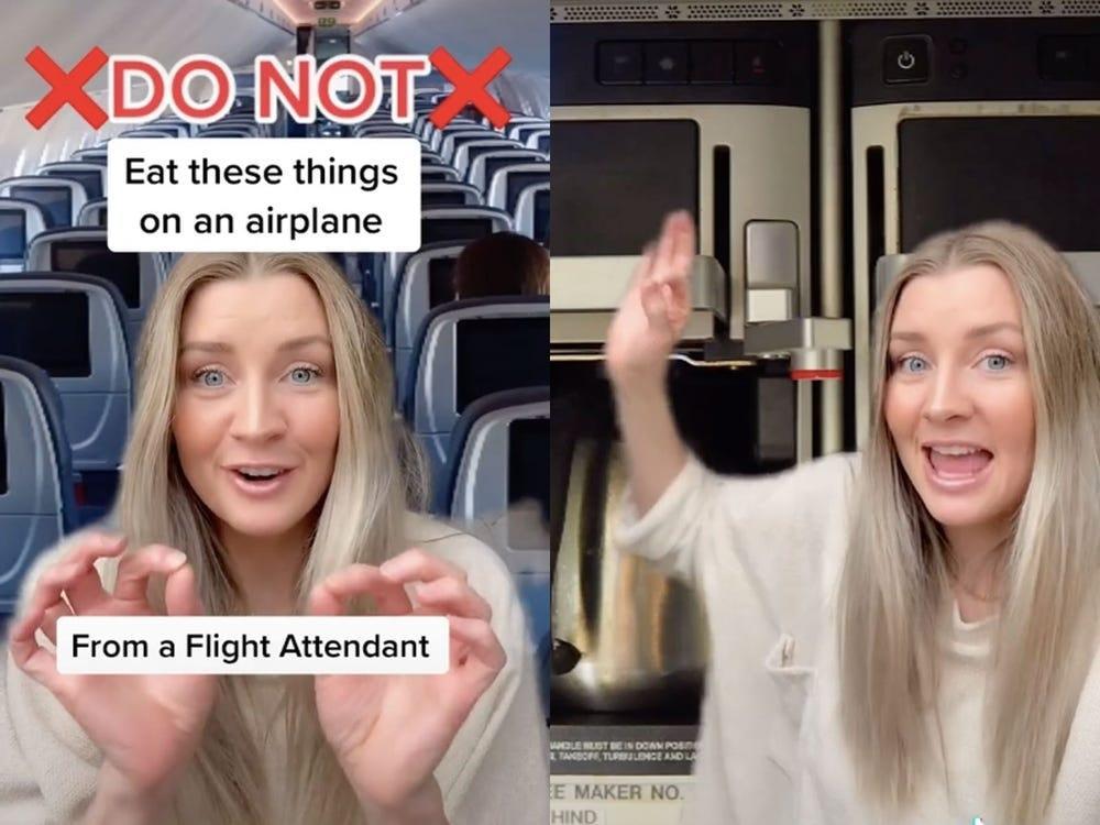 Kat imbau penumpang untuk tidak pesan air di pesawat