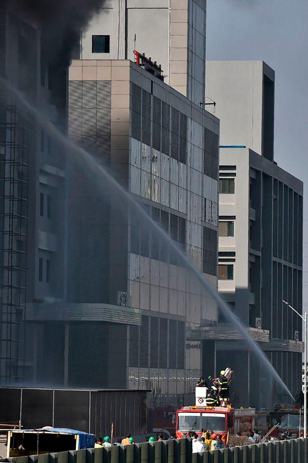 Kebakaran di pabrik vaksin Covid-19 Serum Institute of India (SII)