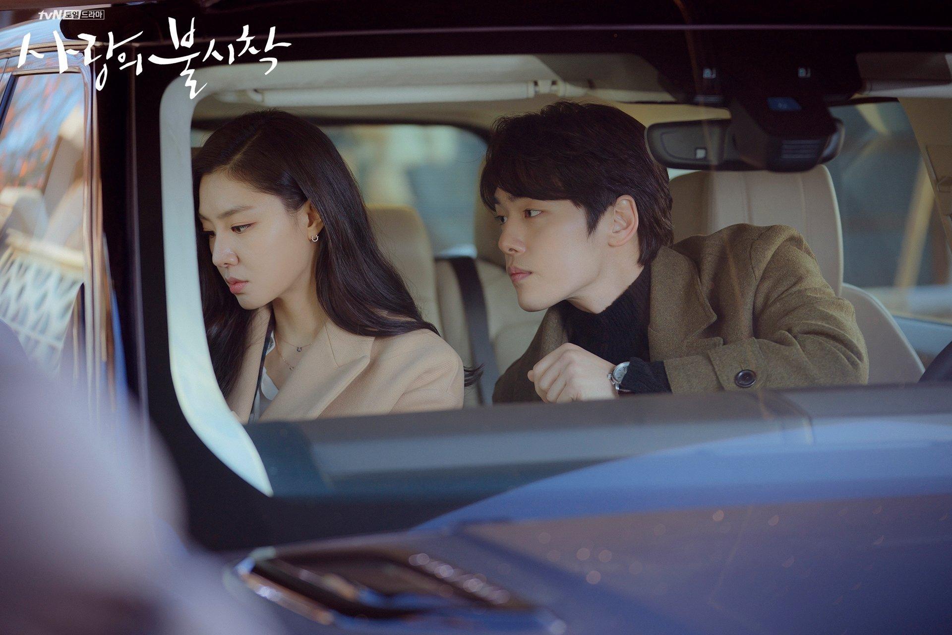 Kim Jung Hyun dan Seo Ji Hye dalam drama Crash Landing on You.