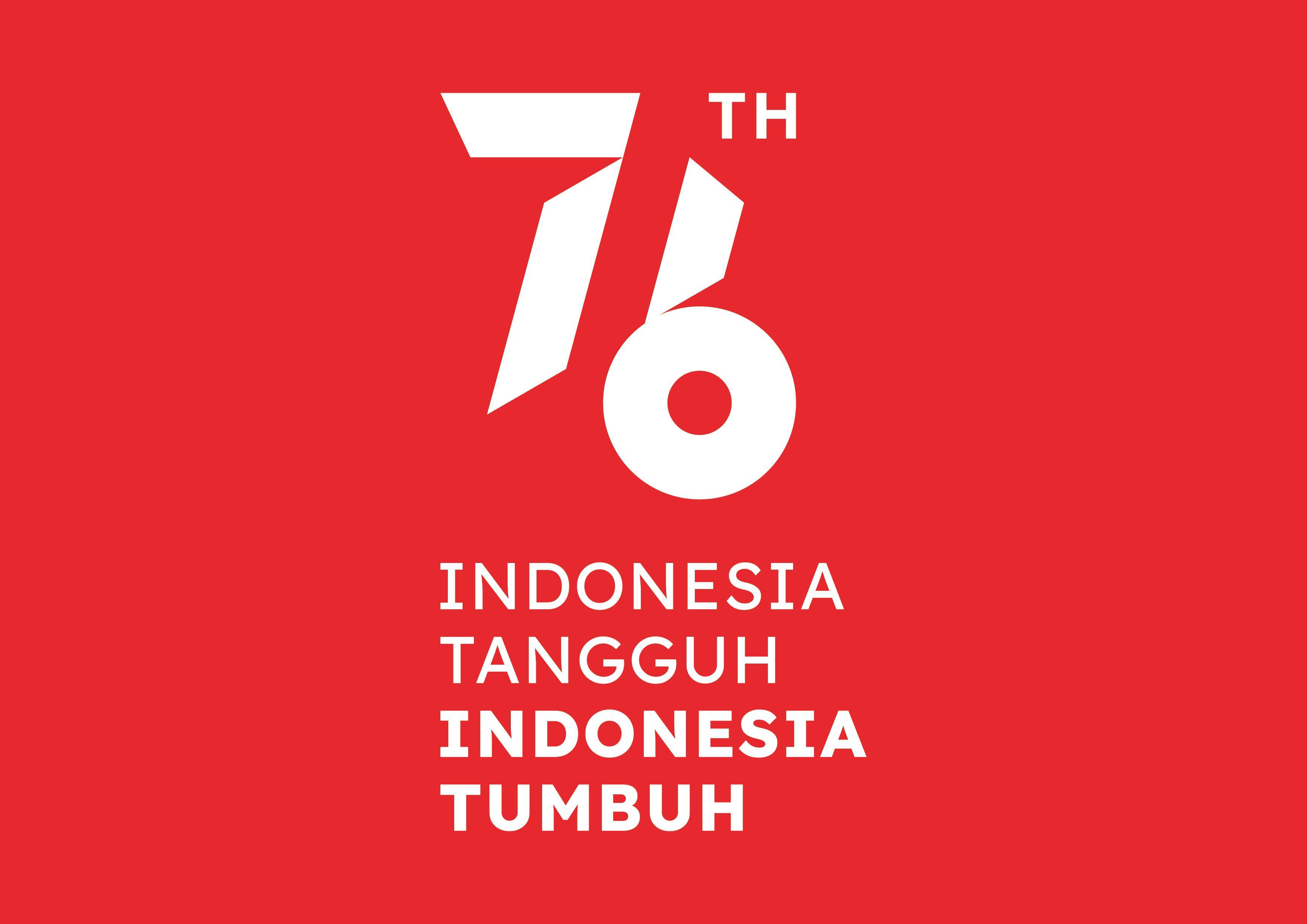 Logo HUT ke-76 RI 2021