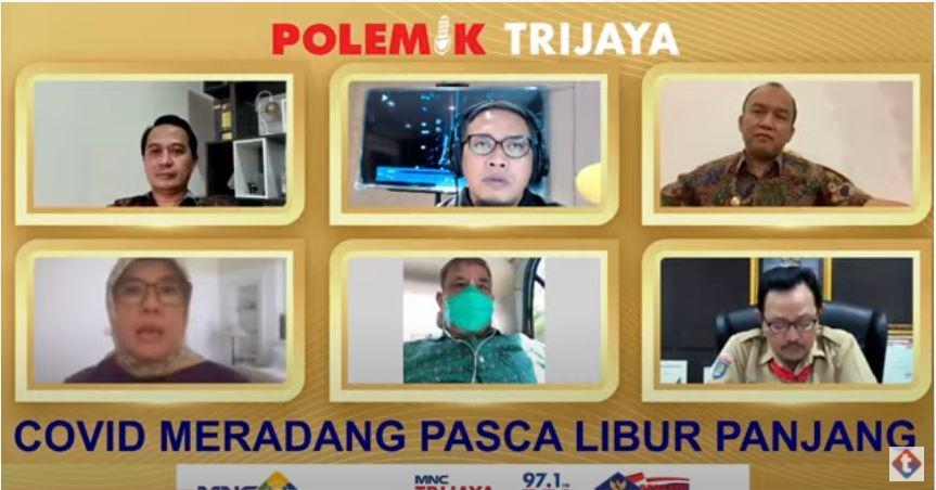 Masdalina Pane dalam diskusi virtual MNC Trijaya FM