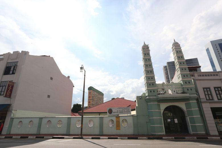 Masjid Jamae (Chulia), satu dari 10 masjid yang dikunjungi oleh lima warga Singapura yang dinyatakan positif menderita virus corona
