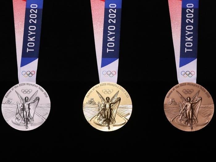 Medali di Olimpiade Tokyo