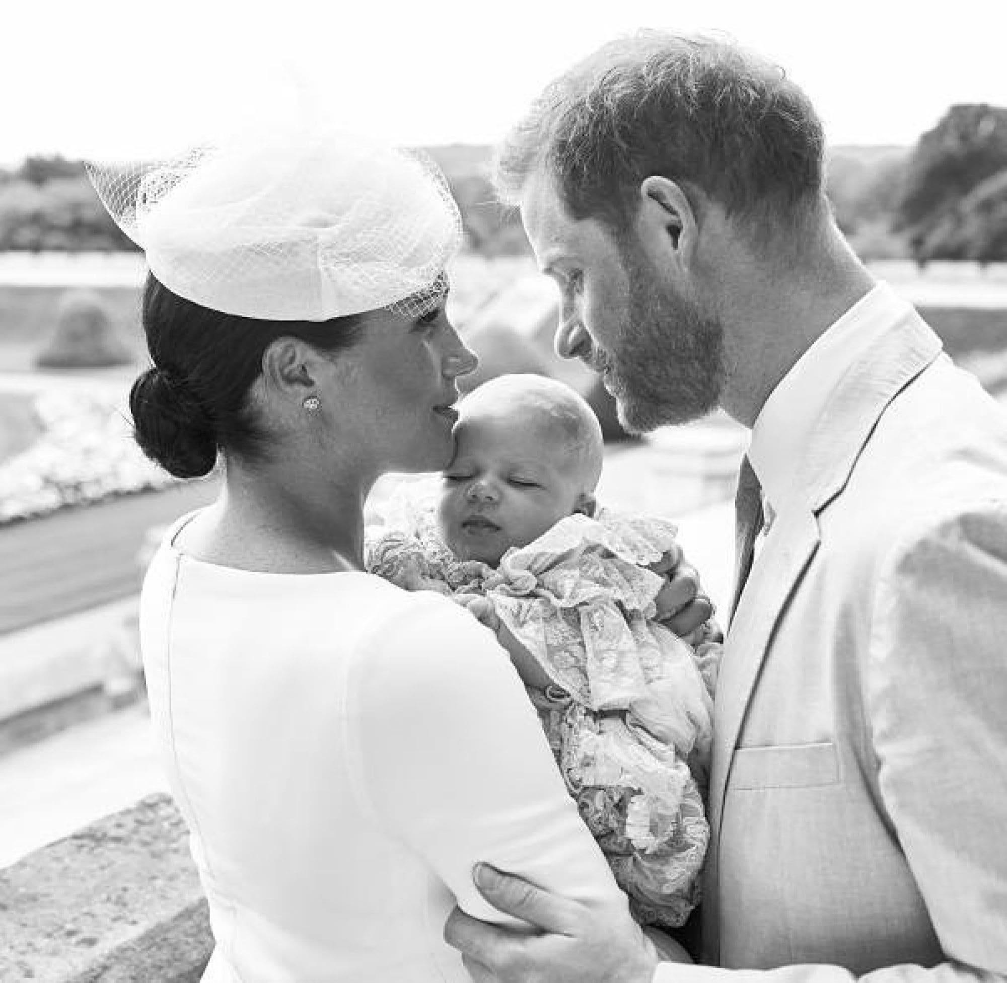 Meghan Markle, Pangeran Harry dan putra mereka Archie Harrison