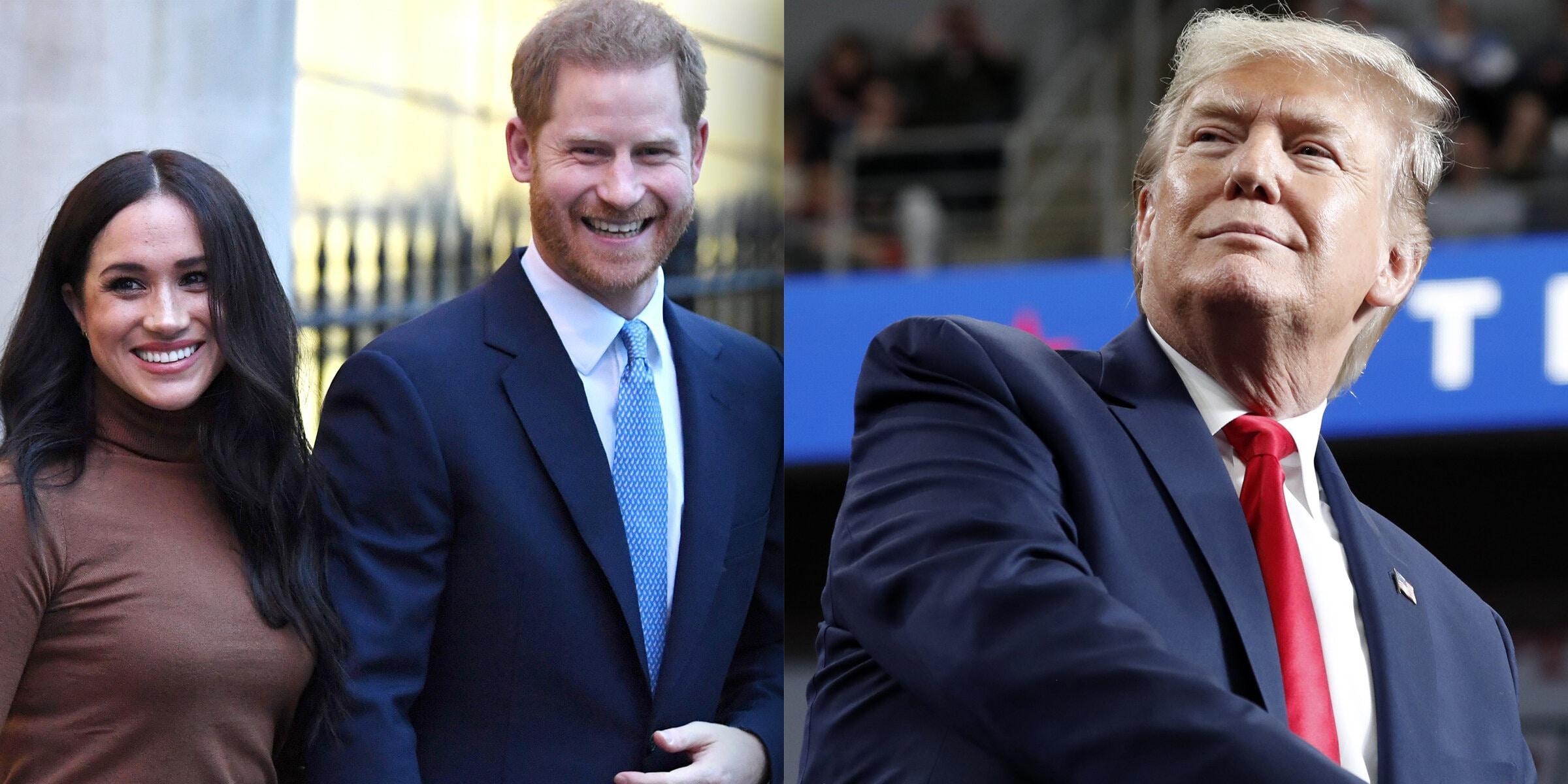Meghan Markle, Pangeran Harry, Donald Trump