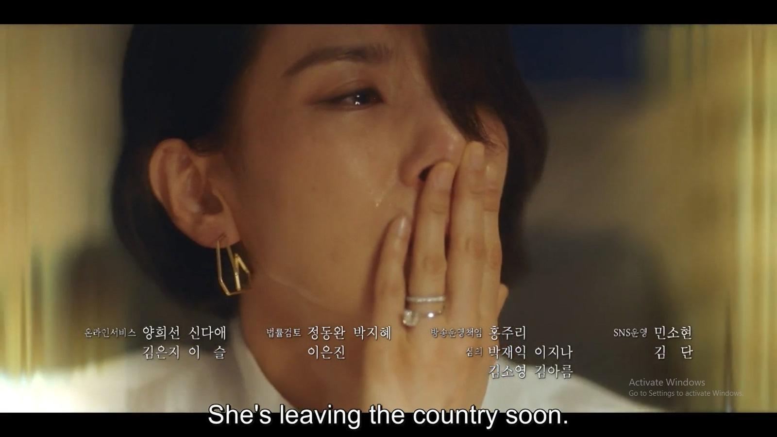 Jung Seo Hyun menangis teringat kenangannya dengan Suzy Choi.
