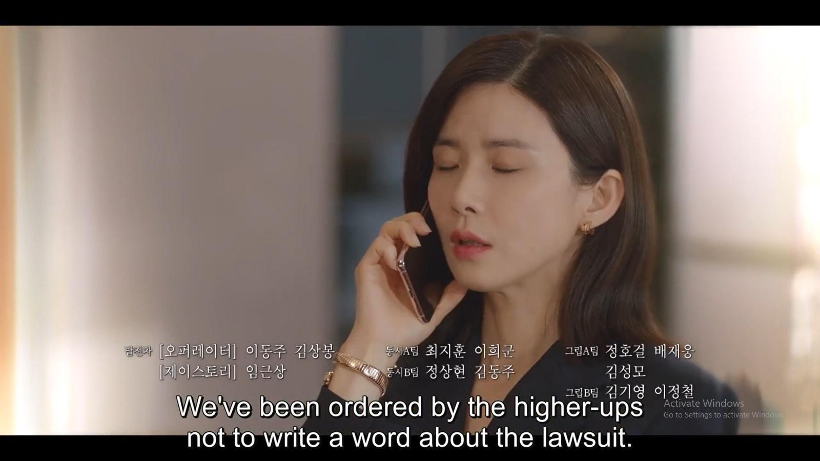 Seo Hi Soo mendengar kabar media tak bisa memberitakan soal gugatannya.