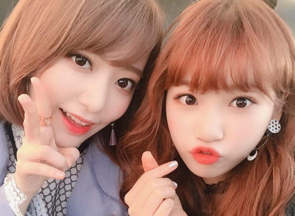 Miyawaki Sakura dan Kim Chae Won