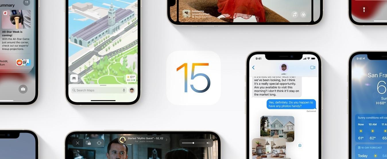 Peluncuran iOS 15 dan iPadOS 15