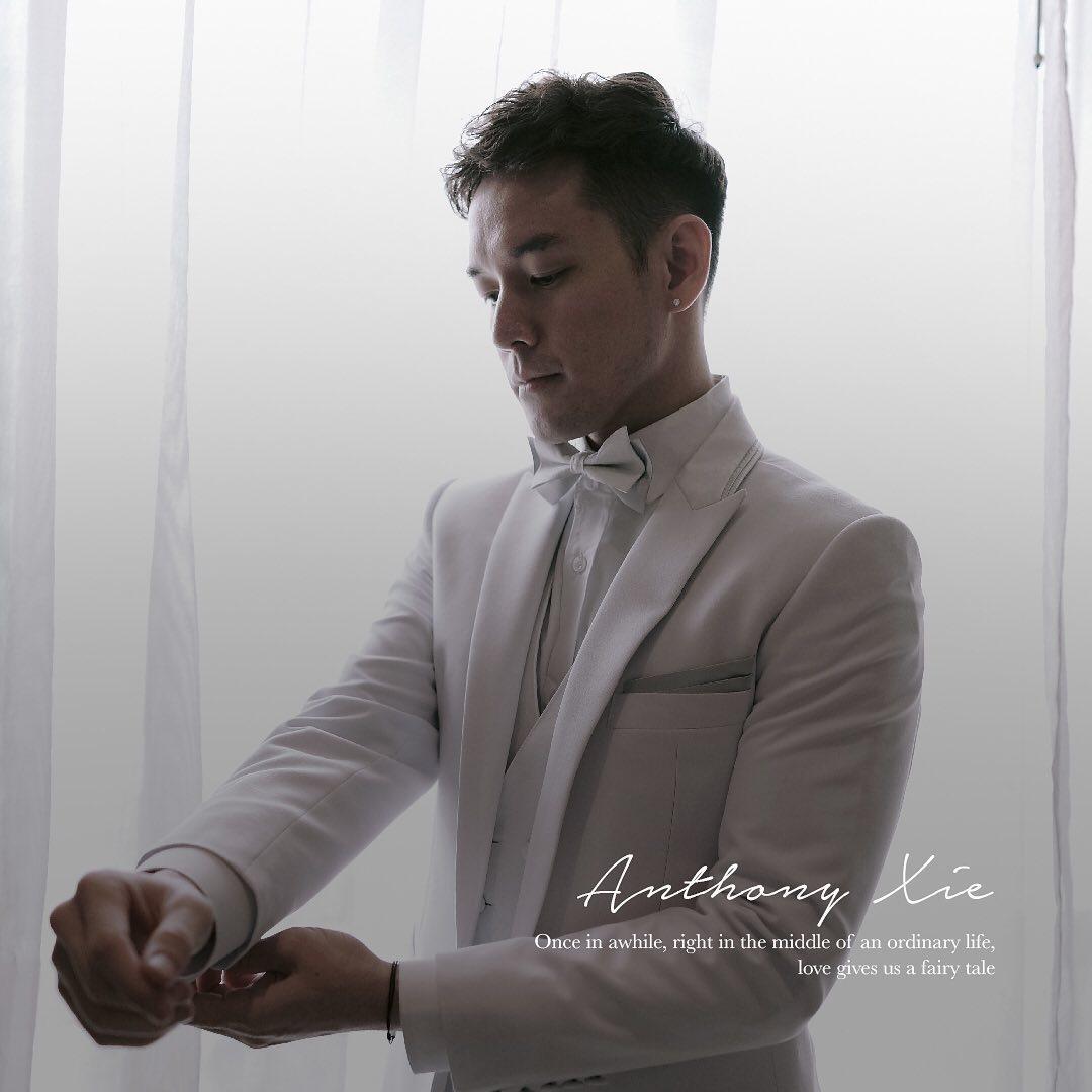 Pernikahan Audi Marissa dengan Anthony Xie Instagram @thepotomoto