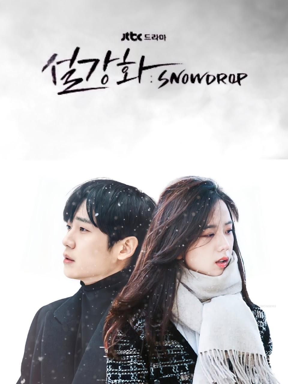 Poster drama Snowdrop yang dibintangi Jisoo BLACKPINK