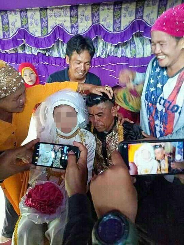 pria 48 tahun nikahi gadis 13 tahun
