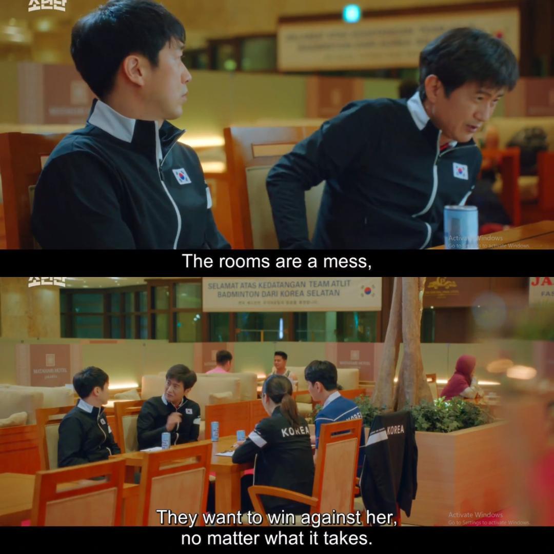 Adegan dalam episode 5 Racket Boys yang menuai kritik dari fans Indonesia.