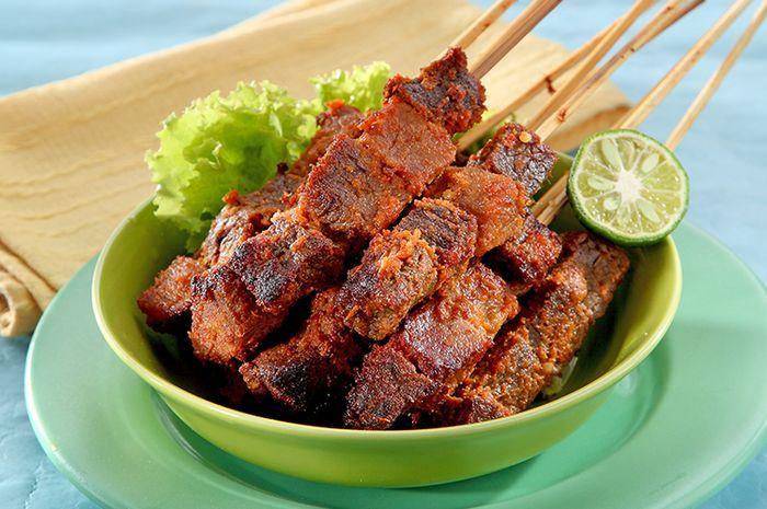 Resep Sate Daging Goreng Pedas Gurih