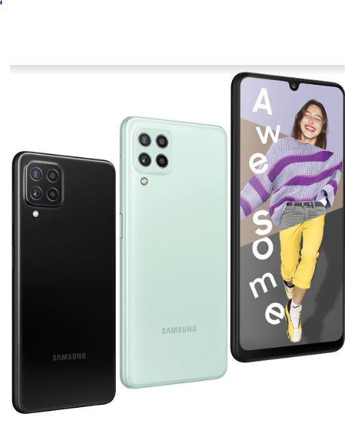 Samsung Galaxy A22 resmi rilis.