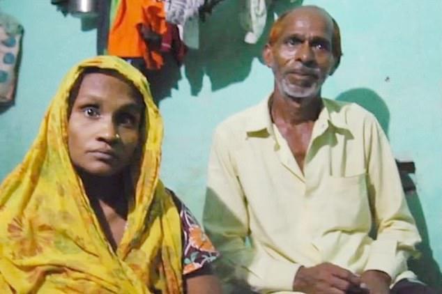 Shiv Charan dan istrinya Babita
