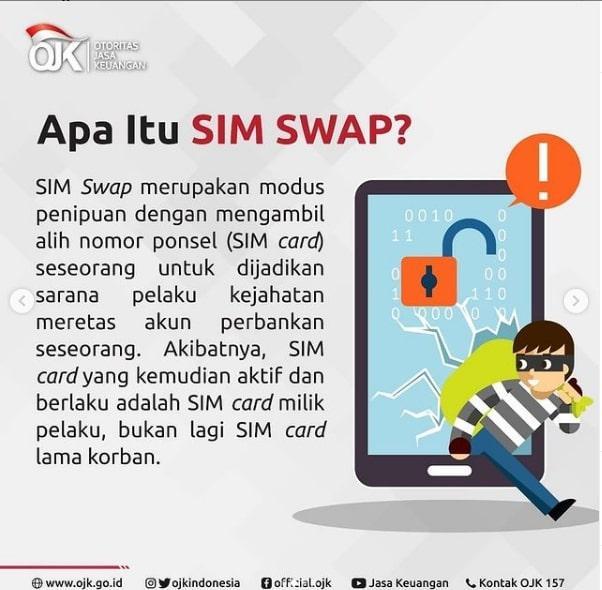 Apa itu SIM SWAP?