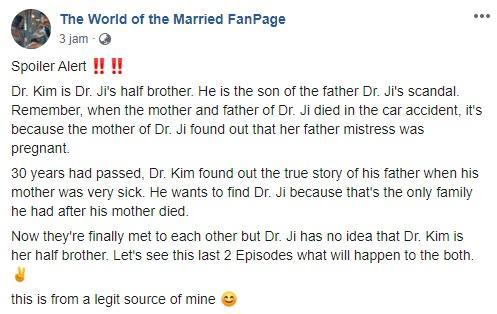 Spoiler ending The World of the Married beredar di media sosial.