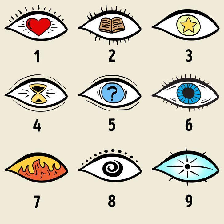 tes kepribadian memilih satu dari sembilan mata